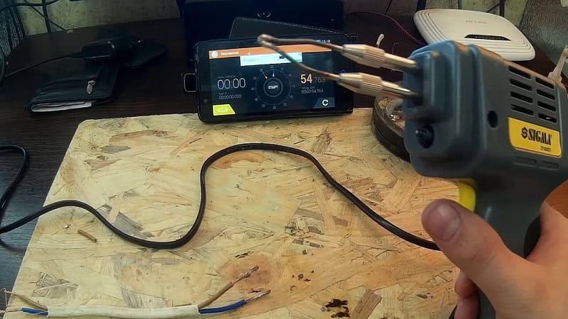 Паяльник со спиральным типом нагревательного элемента