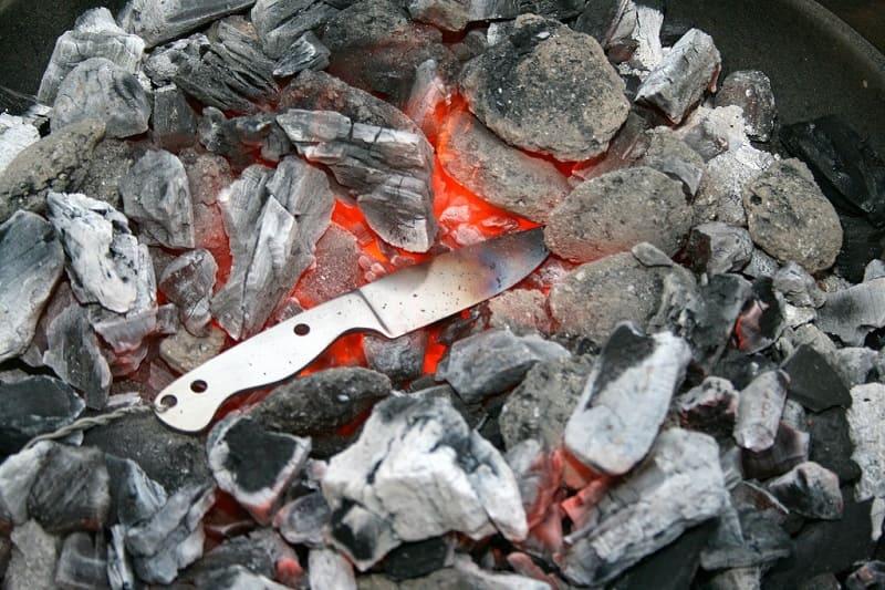 Как закалить нож