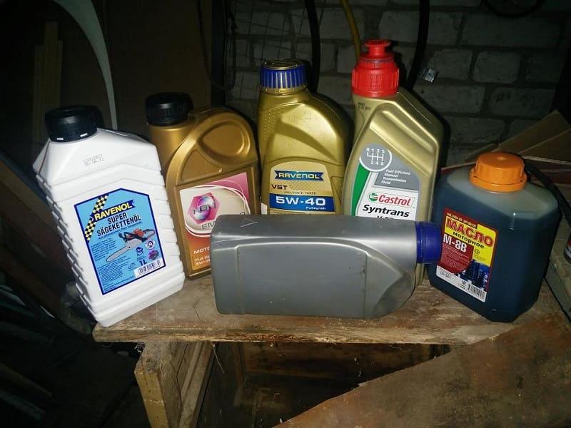 Масло для смазки цепи бензопилы какое заливать, расход, марки