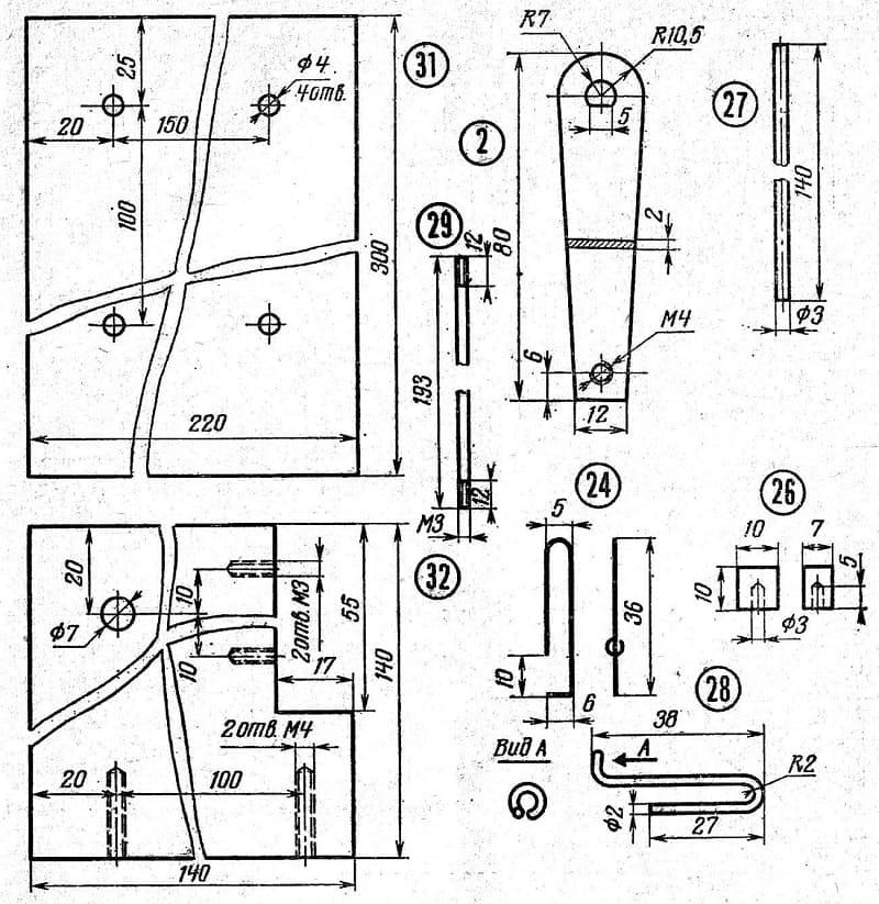 Схема сборки намоточного станка