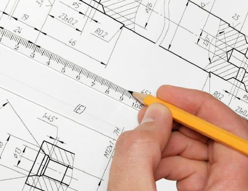 Нанесение размеров на чертежах правила, отклонения, ГОСТ