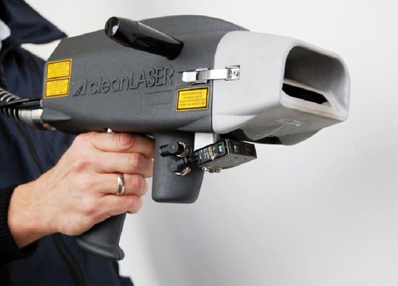 Удаление ржавчины лазером с металла технология, оборудование