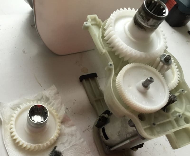 Обслуживание зубчатого механизма