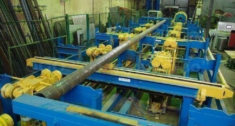 Подготовка труб к нормализации сварного шва