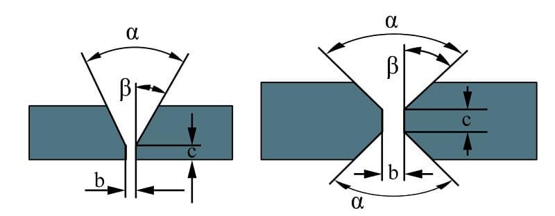 V- и X-образное соединения