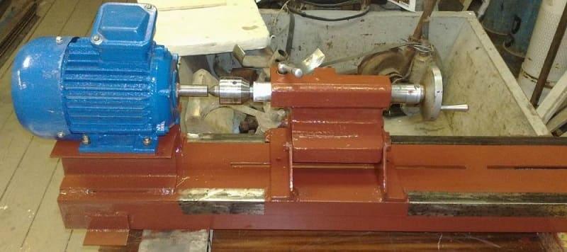 Самодельная задняя бабка для токарного станка