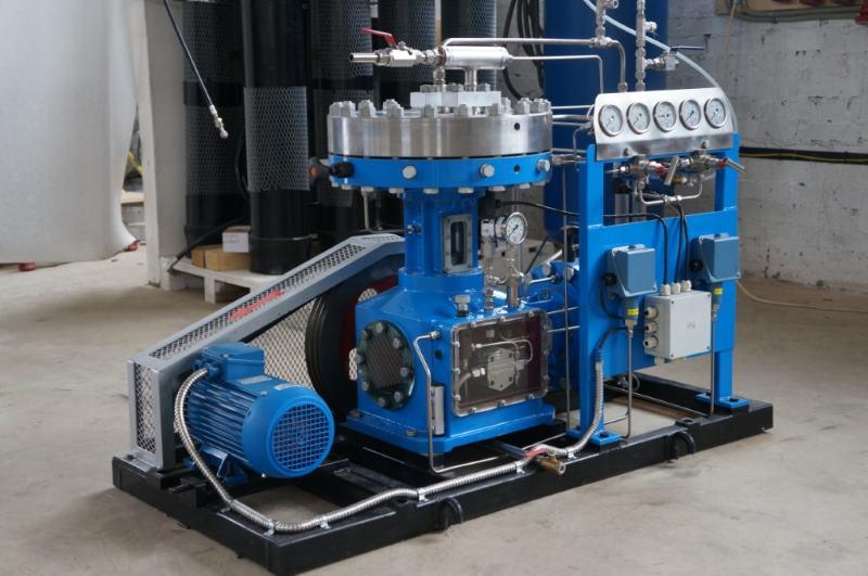 Мембранный азотный компрессор