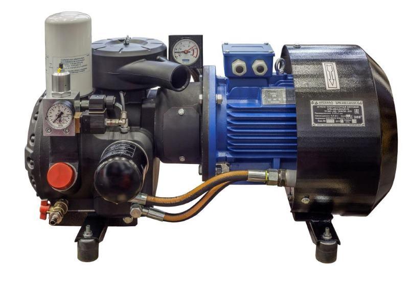 Винтовой компрессор для электротранспорта