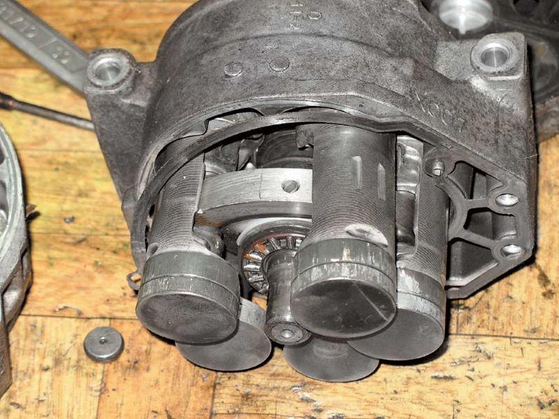Износ компрессора автомобильного кондиционера