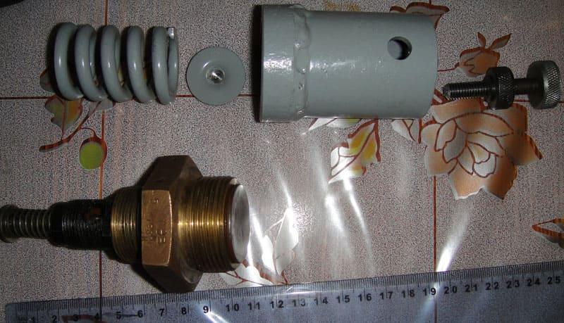 Обратный клапан для компрессора своими руками