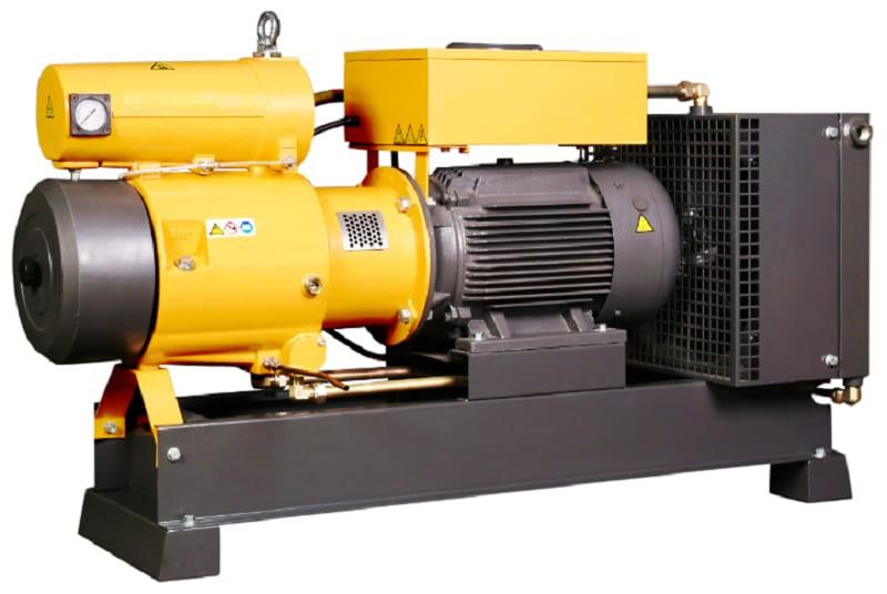 Ротационно-пластинчатый компрессор