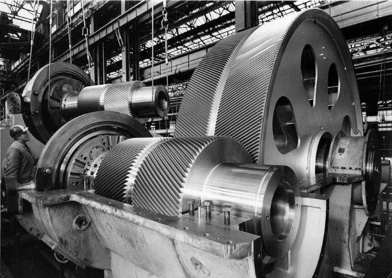 Редуктор паровой турбины