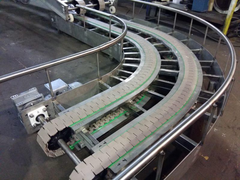 Конвейер пластинчатый поворотный транспортер т4 горит давление масла