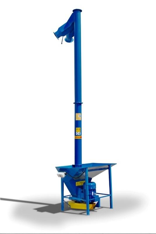 Вертикальный шнековый транспортер