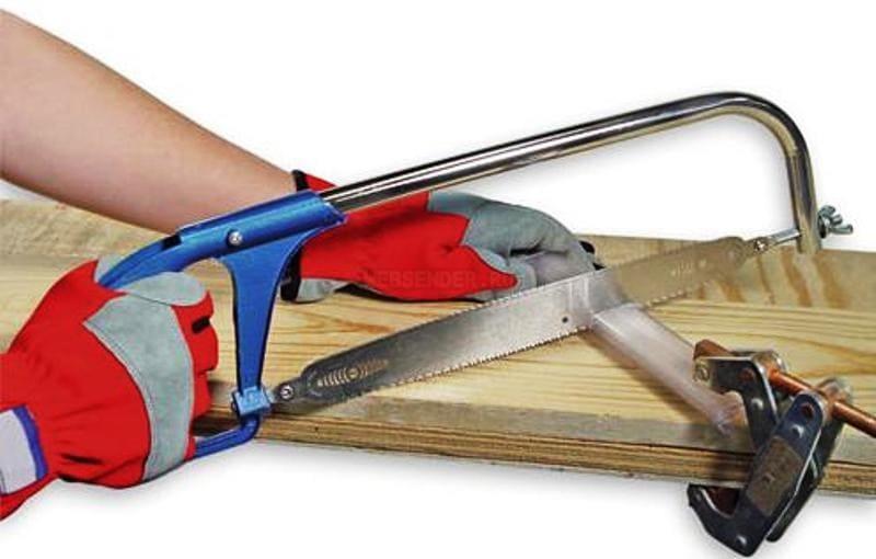 Правильное применение ножовки по металлу