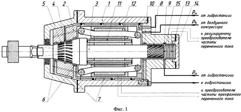 Конструкция шпиндельного узла