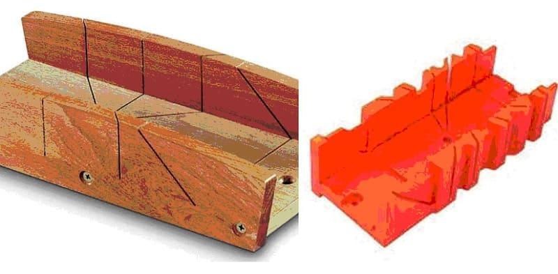Стусло пластиковое и деревянное