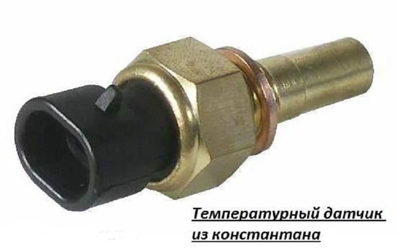 Температурный датчик из константана