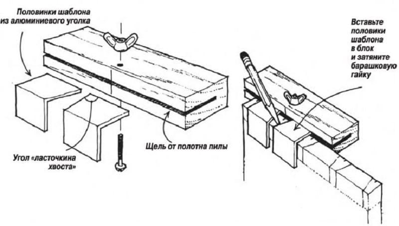 Инструкция по сборке ласточкиного хвоста