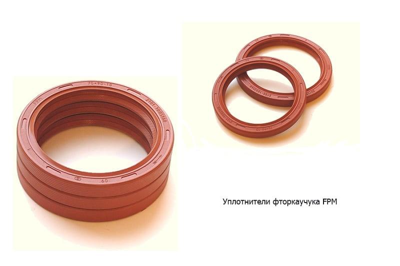 Резиновое кольцо уплотнителя круглого сечения из фторкаучука