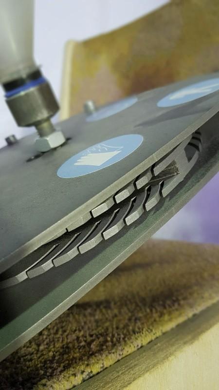 Лопатки метательного диска пескомета