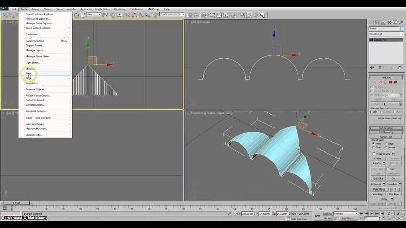Полигональное моделирование технология, виды, методики