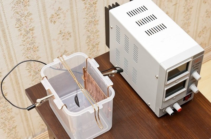 Процесс гальванопластики в домашних условиях