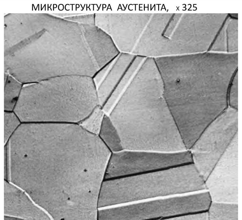 Структура аустенитной стали